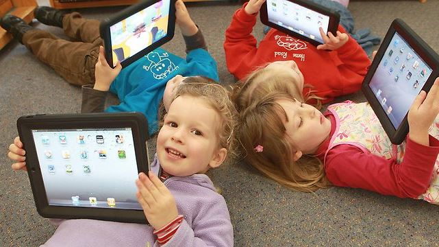 Positive impact of kid-friendly mobile apps