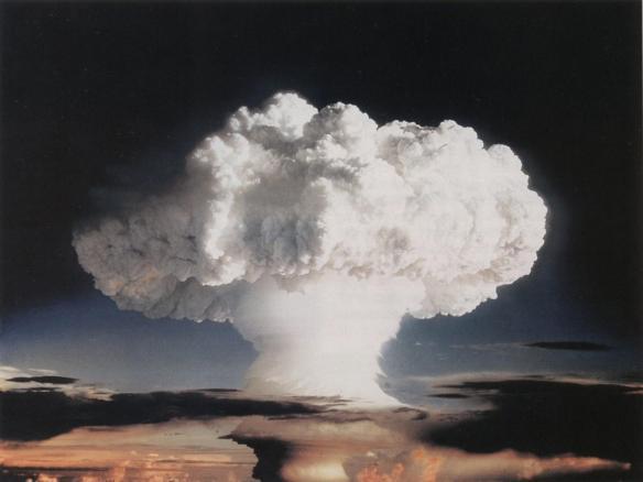 nucelar explosion