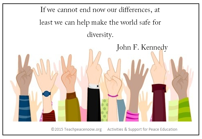 If we cannot end our differences POSTER