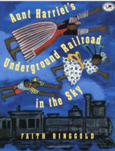 Cover Aunt Harriet's Underground Railroad in the Sky www.teachpeacenow.org